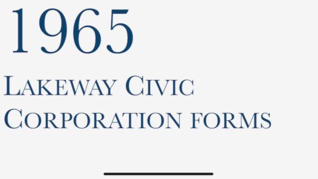 CE Lakeway Governance Timeline