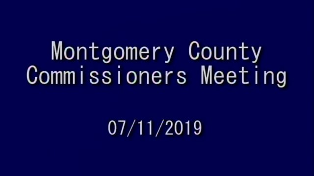 07/11/2019 Commissioners Meeting