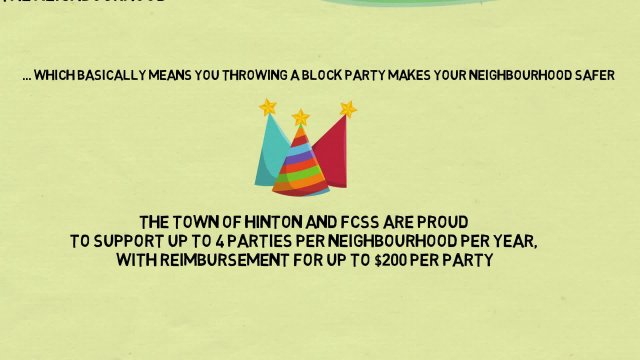 FCSS - Neighbourhood Block Party