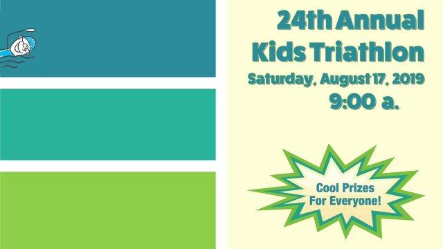 Kids Triathlon August 17, 2019