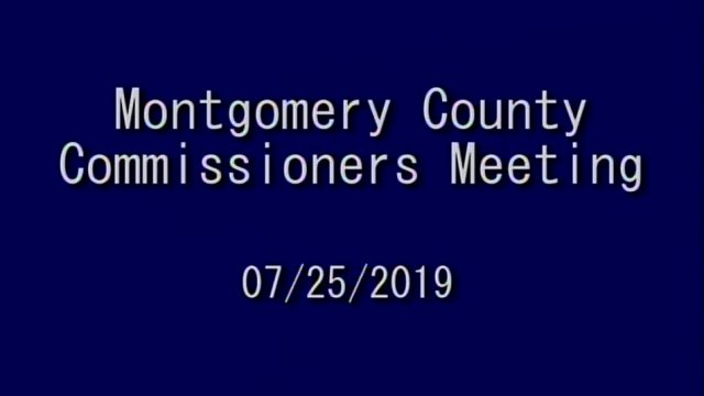 07/25/2019 Commissioners Meeting
