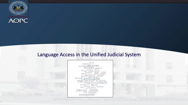 LanguageAccessInTheUJS