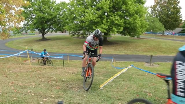 Cyclocross Race at Harbin Park  on September 29, 2