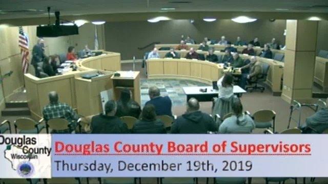 December 19, 2019 County Board