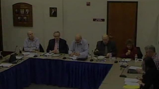 1-13-2020 - Monthly Commissioners Meeting
