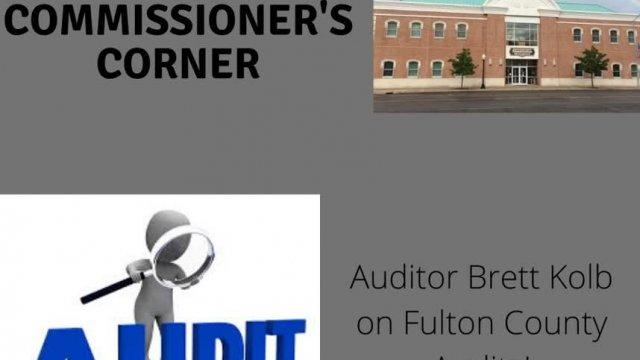 Auditor Brett Kolb Commissioner's Corner Jan. 2020