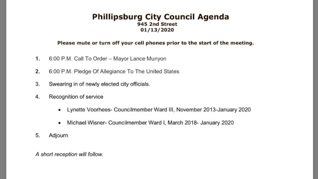 01/13/2020 City Council Meeting