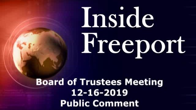 Board of Trustees Meeting 12-16-2019