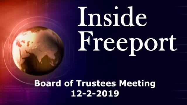 Board of Trustees Meeting 12-2-2019