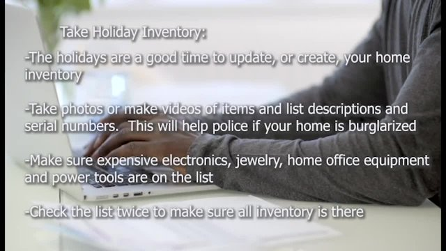 Holiday Safety Tips PART 2