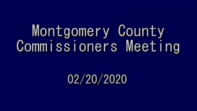 02/20/2020 Commissioners Meeting