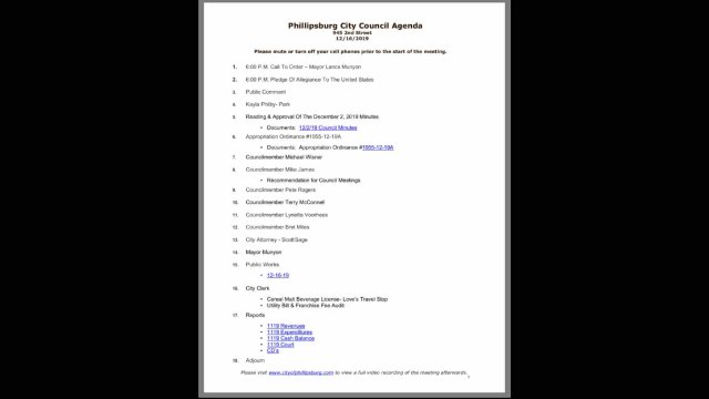 12/16/2020 City Council Meeting