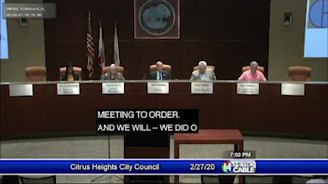 February 27, 2020 Council Meeting