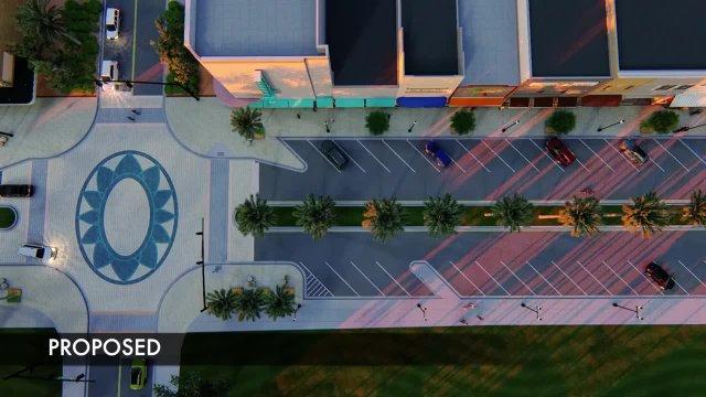 Beach Street Flythrough Visualization