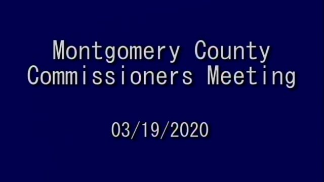 03/19/2020 Commissioners Meeting