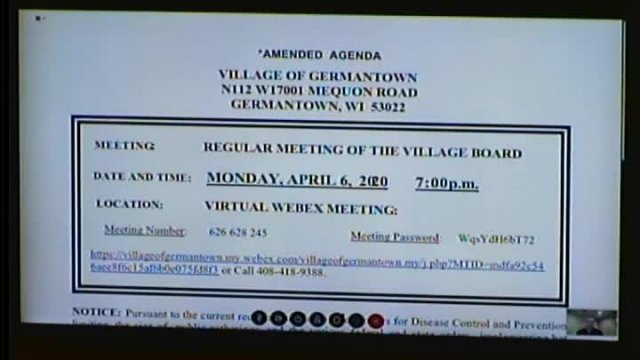 Village Board Apr 6 2020