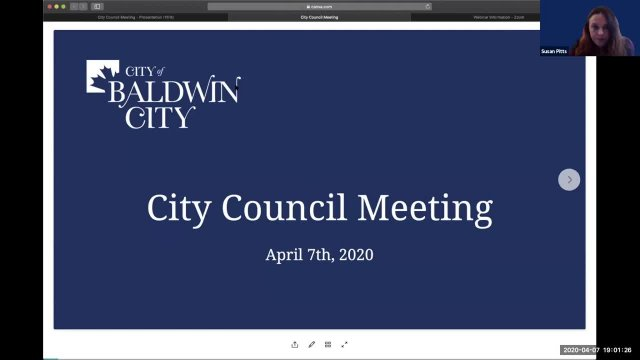 Council Meeting 4.7.2020