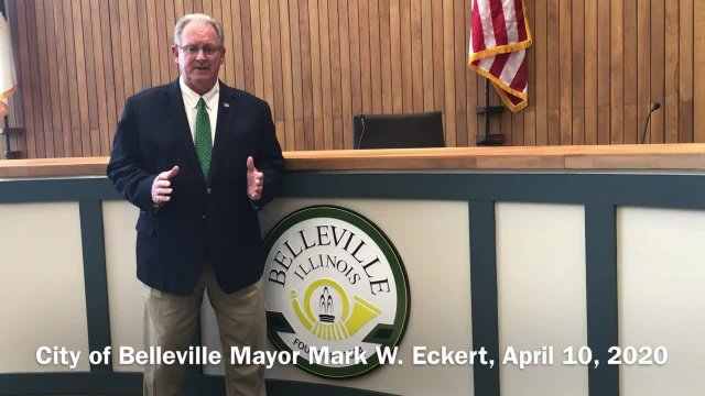 Message from Mayor Mark W. Eckert - April 10, 2020