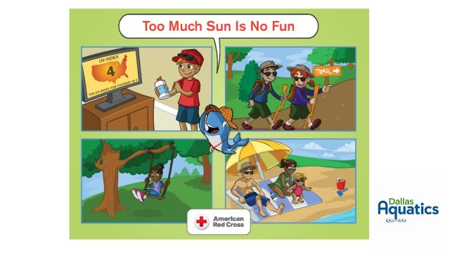 Water Safety Challenge 2 - Too Much Sun