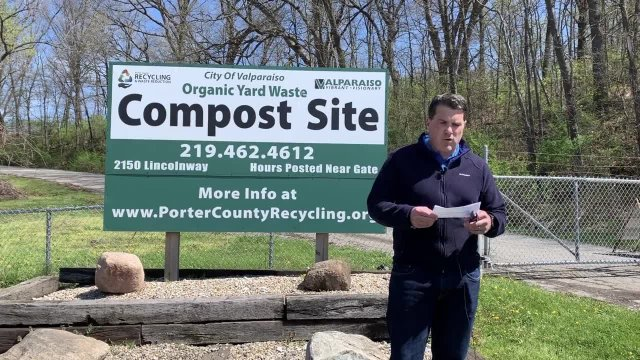 Moment With The Mayor - Compost Site