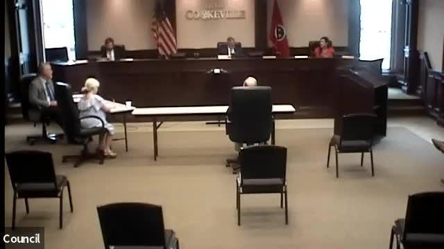 City Council Meeting, May 21, 2020