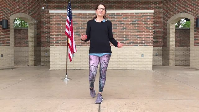 Patriotic Week - Lunges