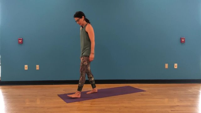 Vinyasa Warrior 1 and 2