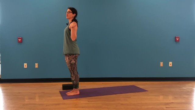 Vinyasa triangle pose