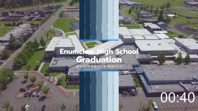 2020 Enumclaw High School Graduation