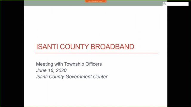 EDA Broadband Meeting with Township Officers Prese