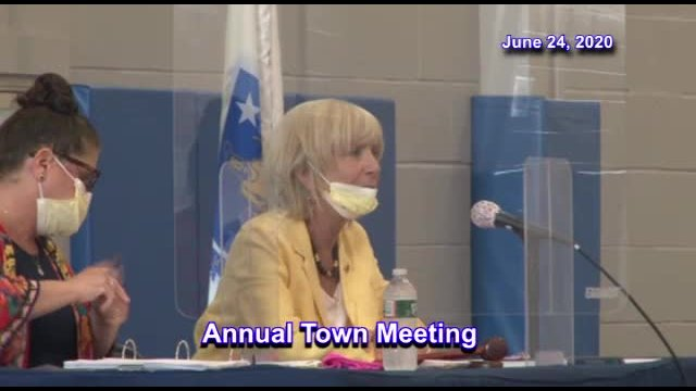 2020 Annual Town Meeting