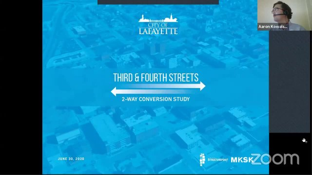 3rd and 4th Streets Conversion Feasibility Study P