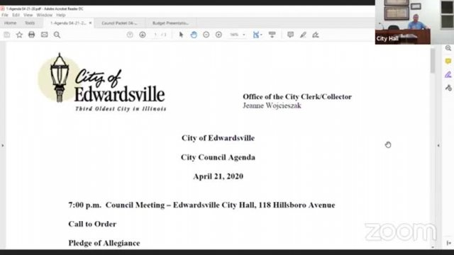 City Council Meeting (4-21-20)