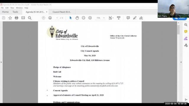City Council Meeting (SINE DIE) (5-4-20)