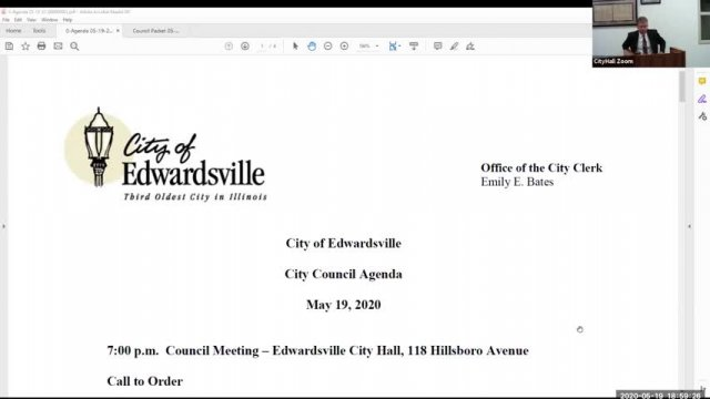 City Council Meeting (5-19-20)