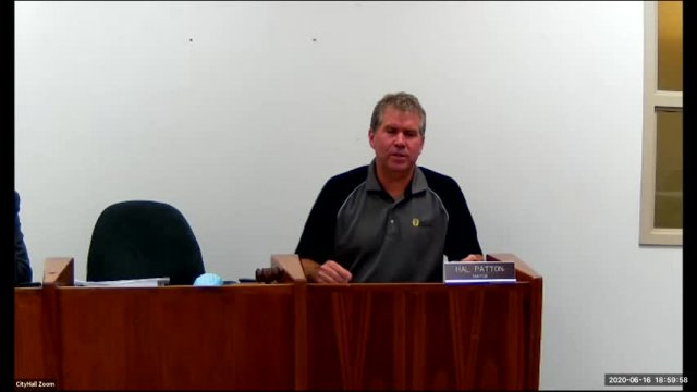 City Council Meeting (6-16-20)
