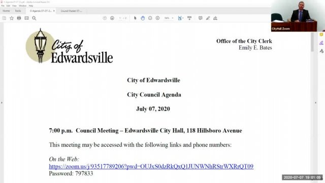City Council Meeting (7-7-20)