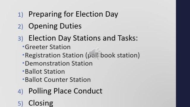 Scott County 2020 Election Judge Training