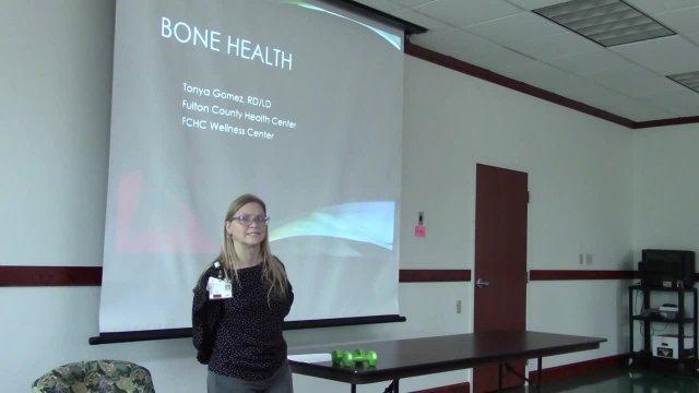 weight training and bone health presentation