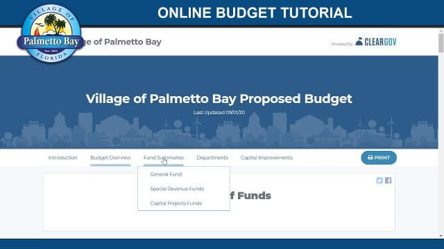 Online Budget Tutorial