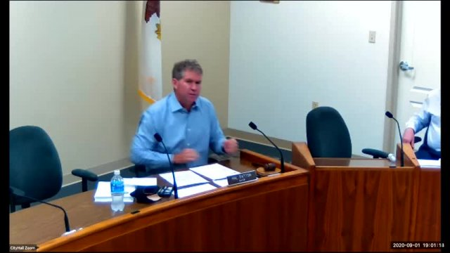 City Council Meeting (9-1-20)
