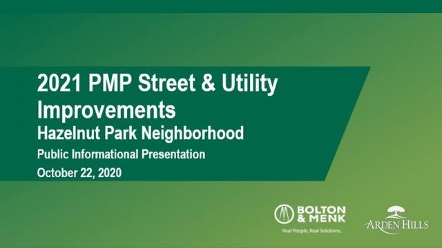 2021 PMP Street and Utility Improvements