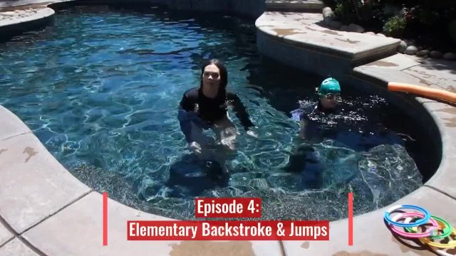 Backyard Swimming Lessons Episode 4