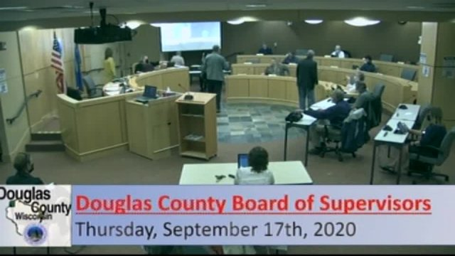 September 17, 2020 County Board