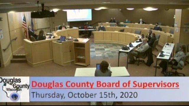 October 15, 2020 County Board