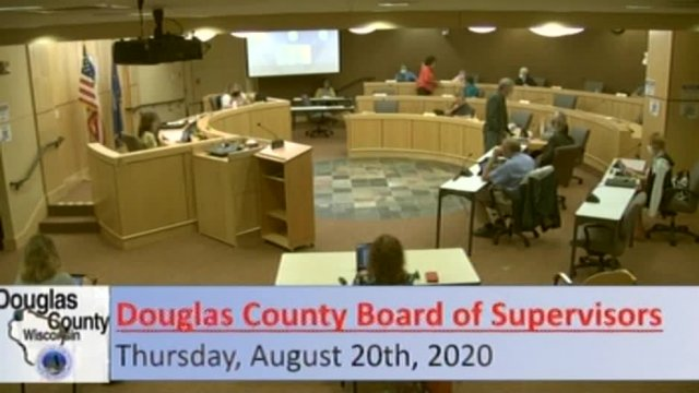 August 20, 2020 County Board