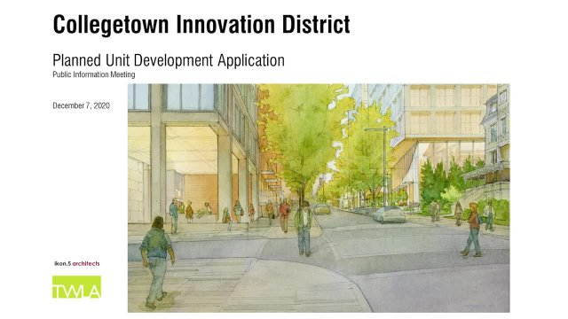 Collegetown Innovation District Project TWMLA Publ