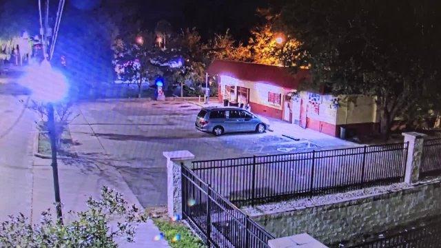 Surveillance Video  outside