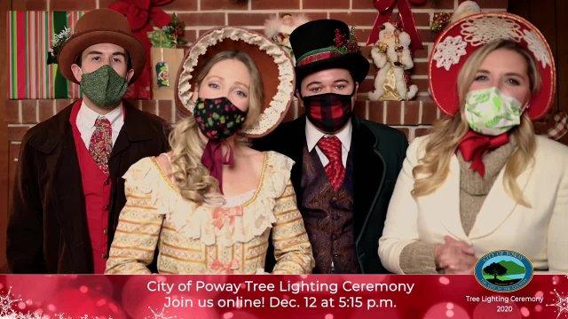 Poway Tree Lighting Sneak Peek