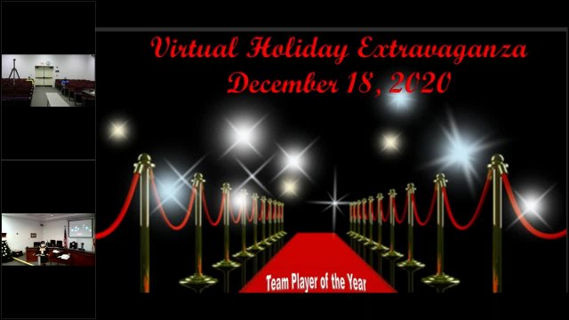 Virtual Holiday Extravaganza